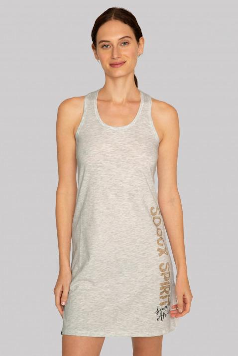 Beach-Kleid mit Knoten-Detail am Rücken