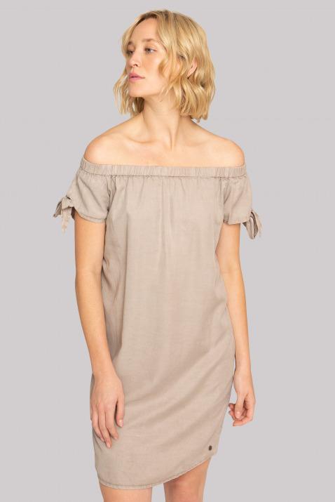 Carmen-Kleid aus Lyocell