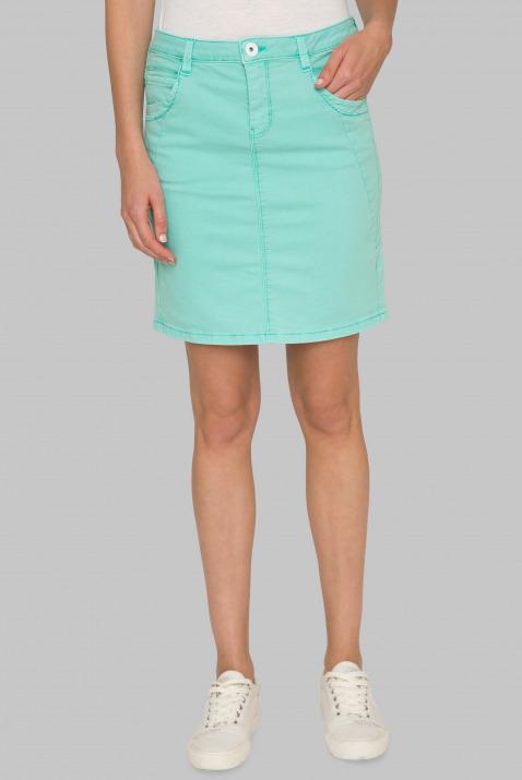 Coloured Denim Skirt RO:SY