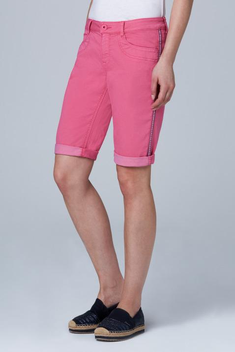Coloured Jeansshorts DE:BY mit Streifentape