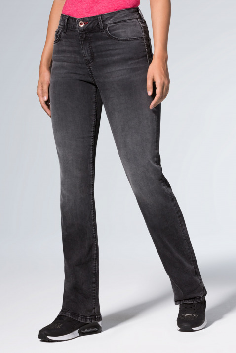 Comfort Shape Jeans EL:KE mit Used-Optik