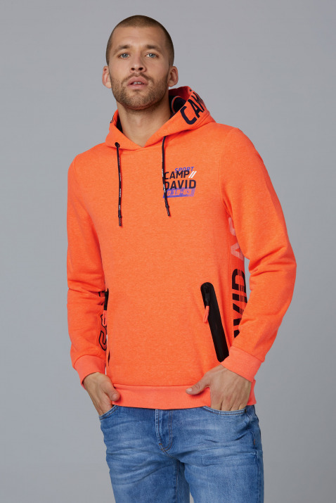 Fleece Hoodie mit Logo und Waterproof Zippern