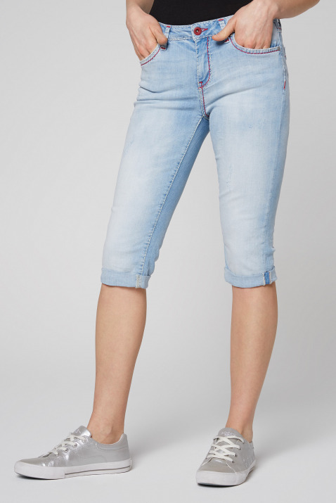 Jeans Bermuda RO:MY im Sunny Bleached Look