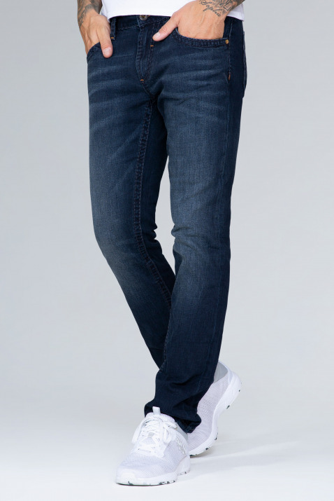 Jeans NI:CO mit Blue Black Vintage, Regular Fit