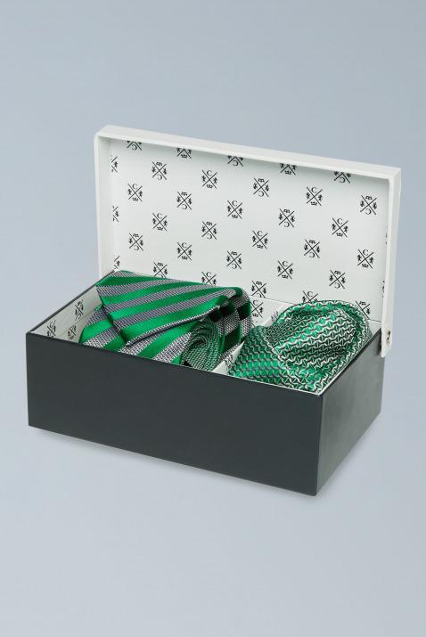 Krawatte + Pochette im Set