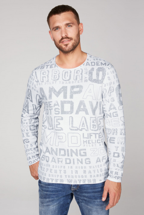 Pullover mit All Over Print