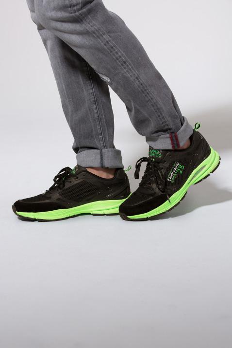 Running Sneaker aus Mesh mit Logo