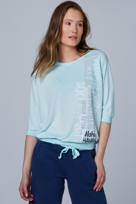 Shirt mit kurzen Fledermausärmeln