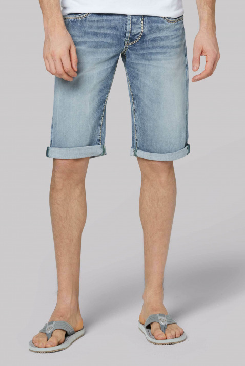 Skater Shorts RO:BI mit Used-Waschung