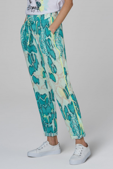 Sommerhose mit All Over Print