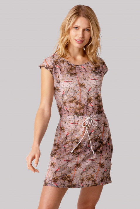 Strandkleid mit All Over Print