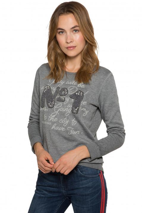 Sweatshirt mit dekorativem Artwork