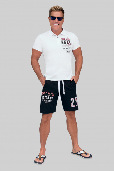 Sweatshorts mit Artworks
