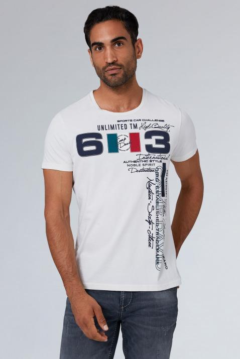 T-Shirt mit großem Frontprint