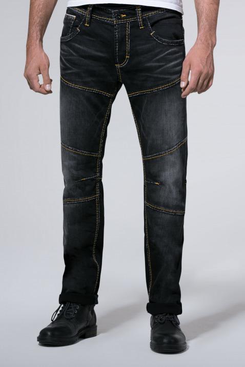 Vintage Look mit Biker-Elementen Jeans HE:RY