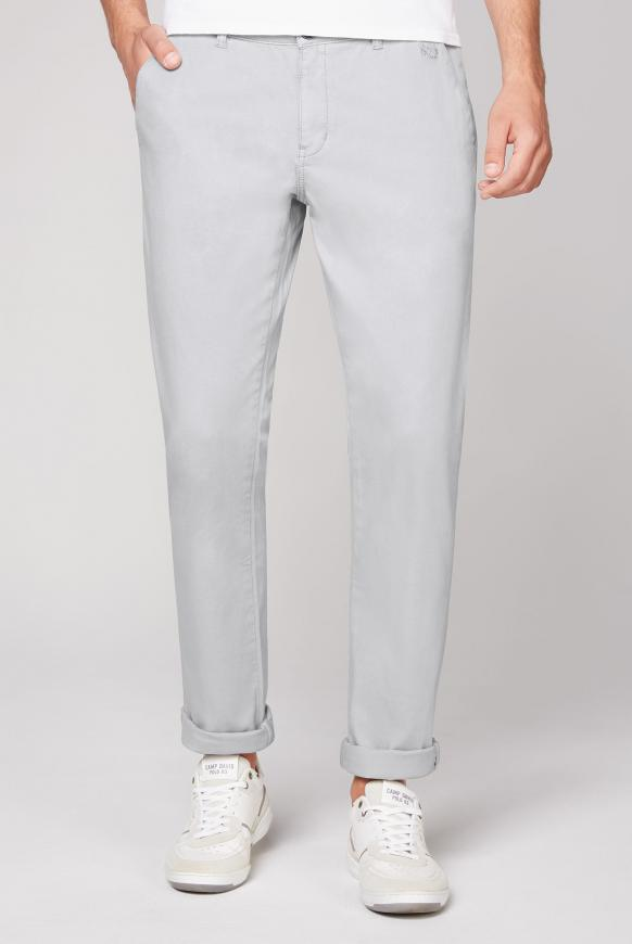 Chino SC:OT mit Webstruktur polo grey