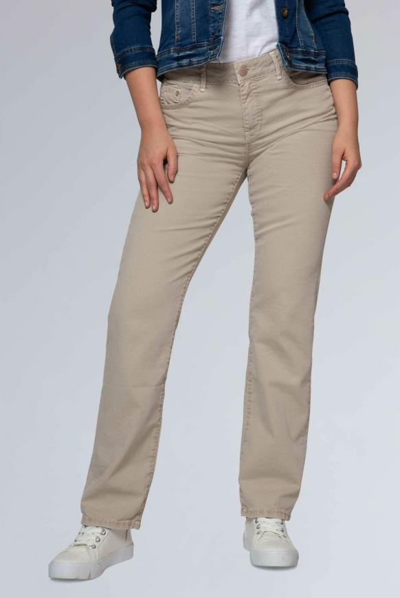 Comfort Shape Coloured Denim EL:KE beige