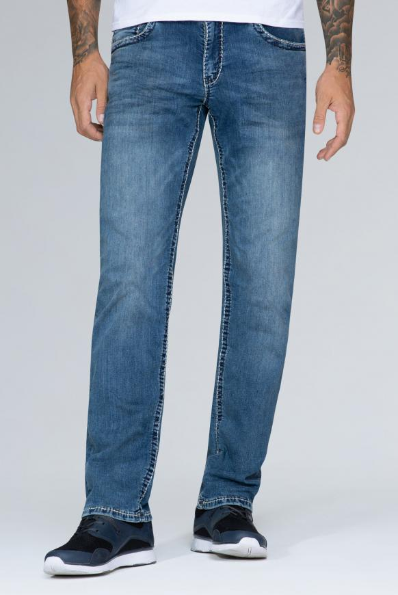 Dark Vintage Used Denim CO:NO Comfort Fit
