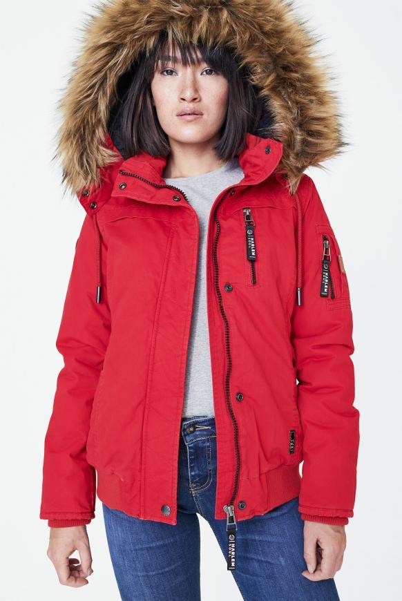 GI-GI Jacke mit Kapuze red