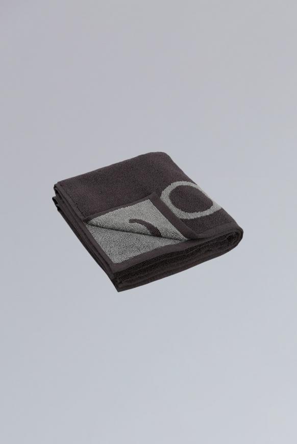 Handtuch aus Frottier mit Logo anthracite / grey