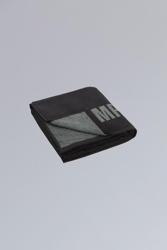 Handtuch mit Logo anthracite / grey