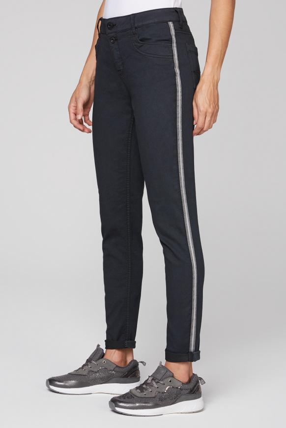 Jeans DE:BY im Jogg Mix mit Streifentape black
