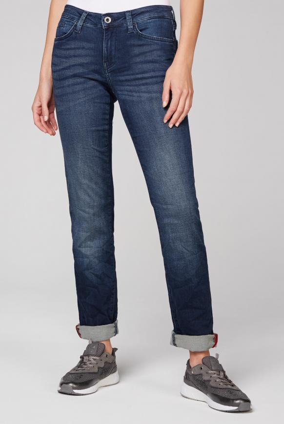 Hosen - Jeans RO MY aus Sweatmaterial in Denim Optik Farbe dark blue jogg  - Onlineshop CAMP DAVID, SOCCX