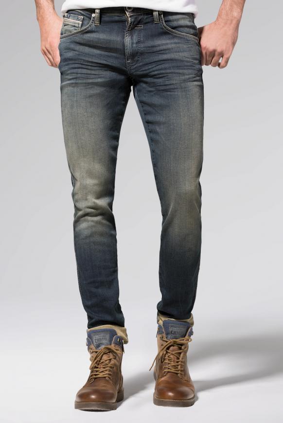 Jogg-Denim mit Used-Optik Jeans DA:VD blue aged jogg