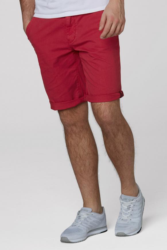 Klassische Chino Shorts cardinal