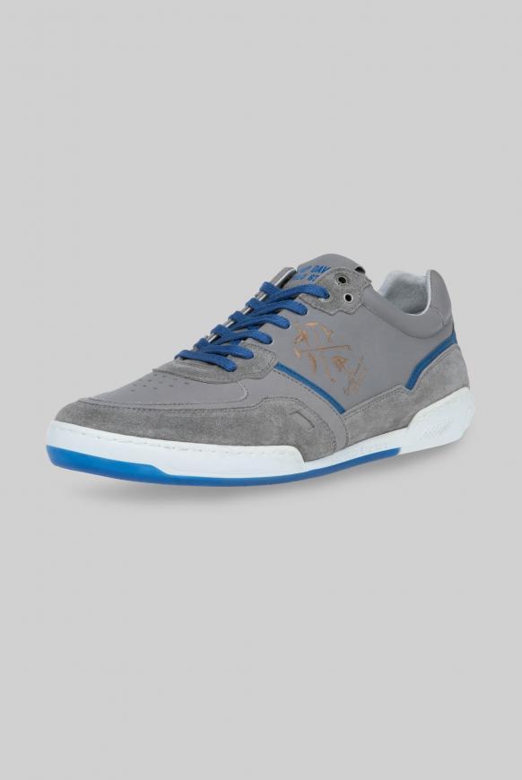 Premium Leder Sneaker polo grey