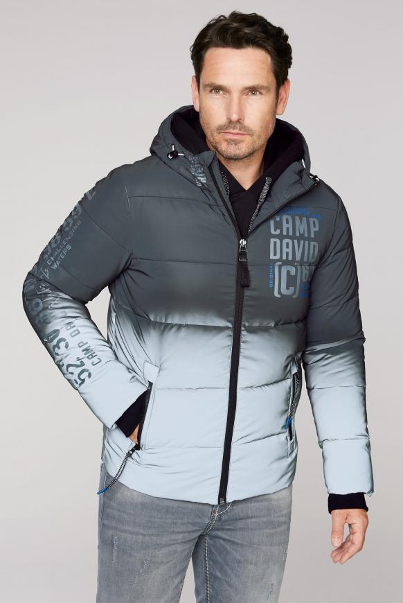Reflektor-Jacke mit Farbverlauf grey