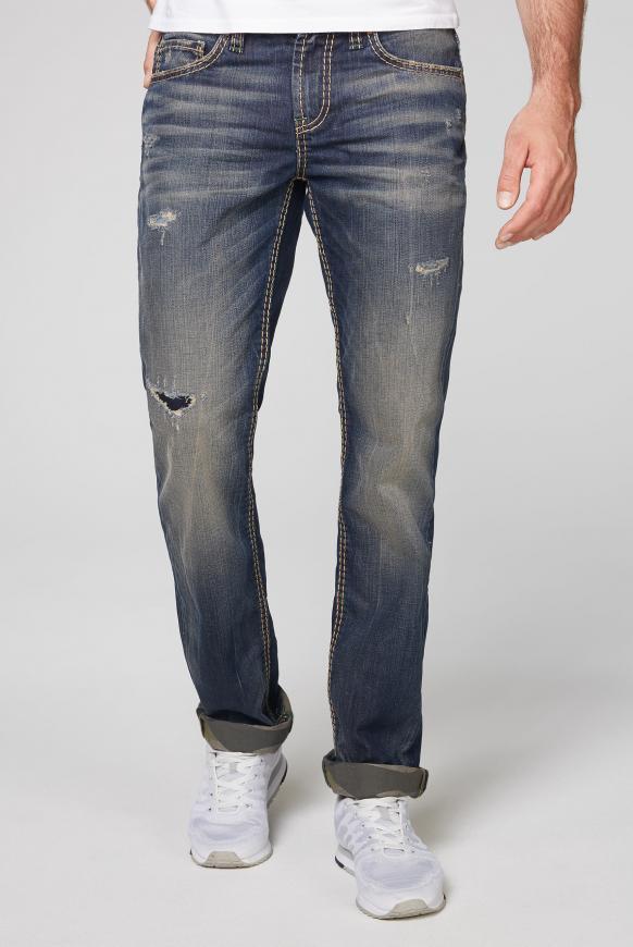 Regular Fit Jeans BR:AD im Vintage Style dark vintage