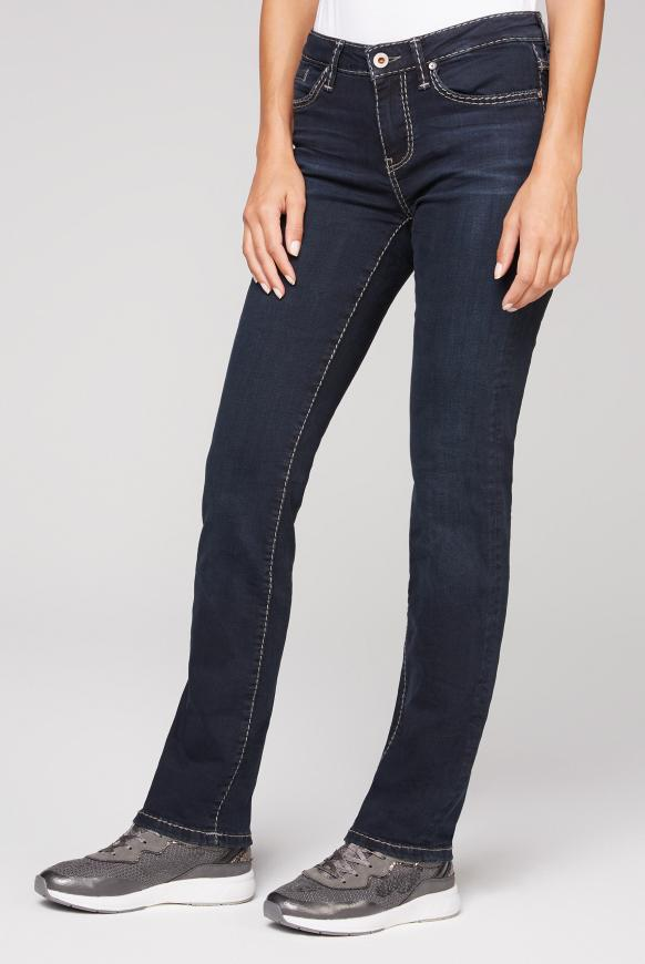 Regular Fit Jeans RO:MY mit geradem Bein blue black