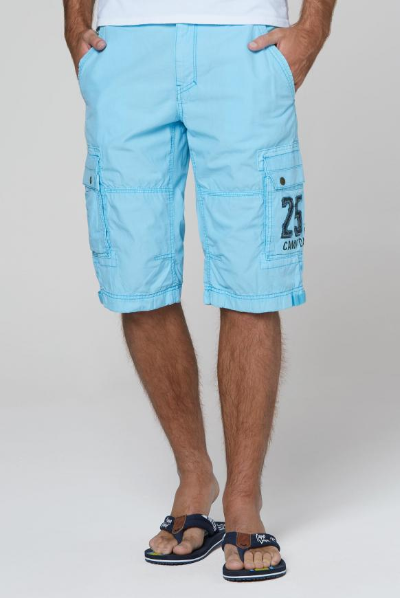 Skater Bermuda Stone Washed fresh aqua