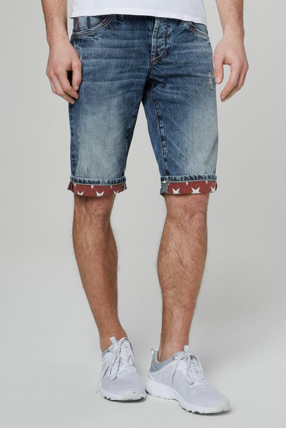 Skater Jeans RO:BI mit Destroy-Effekten vintage used