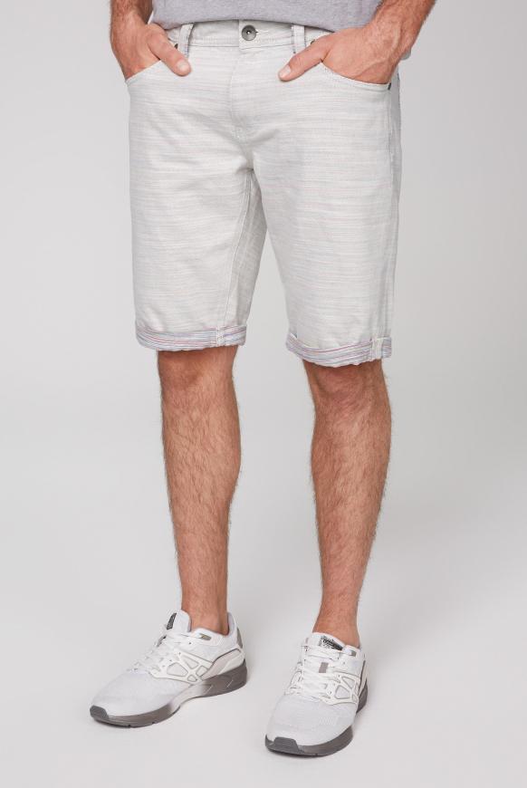 Skater Shorts ST:AN mit bunter Innenseite beige