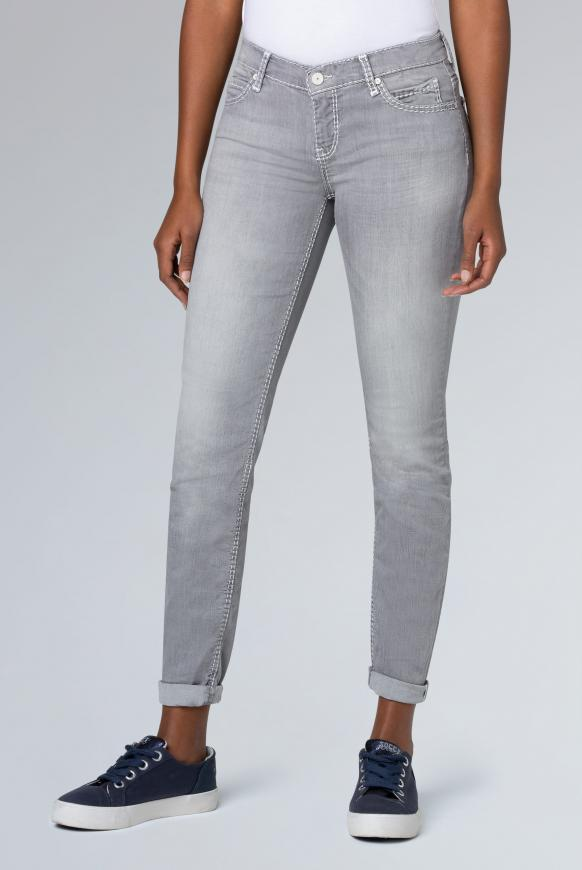 Slim Fit Jeans HE:DI in Grey Used grey used