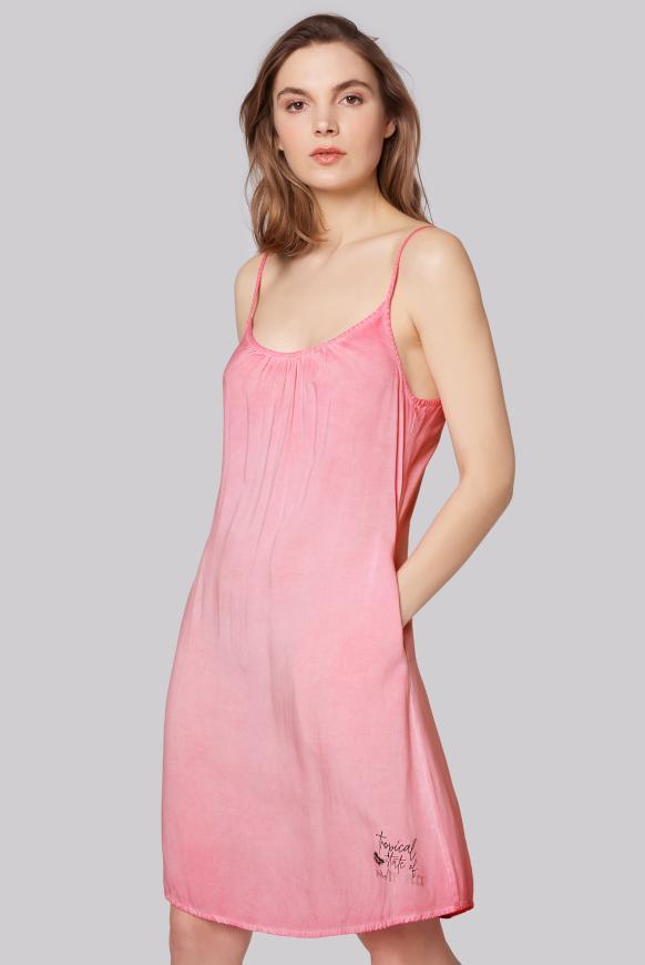 Sommerkleid mit Träger-Design am Rücken lush rose