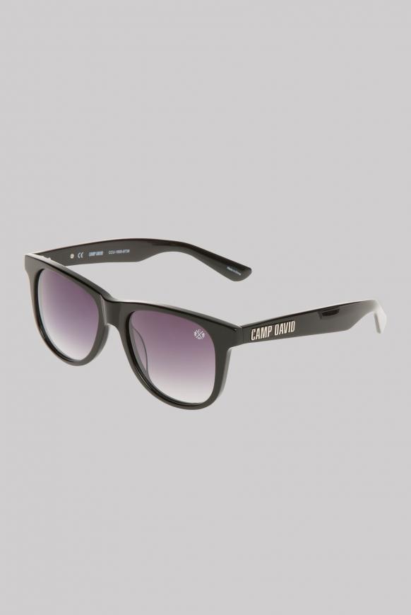 Sonnenbrille mit Vollrandfassung black