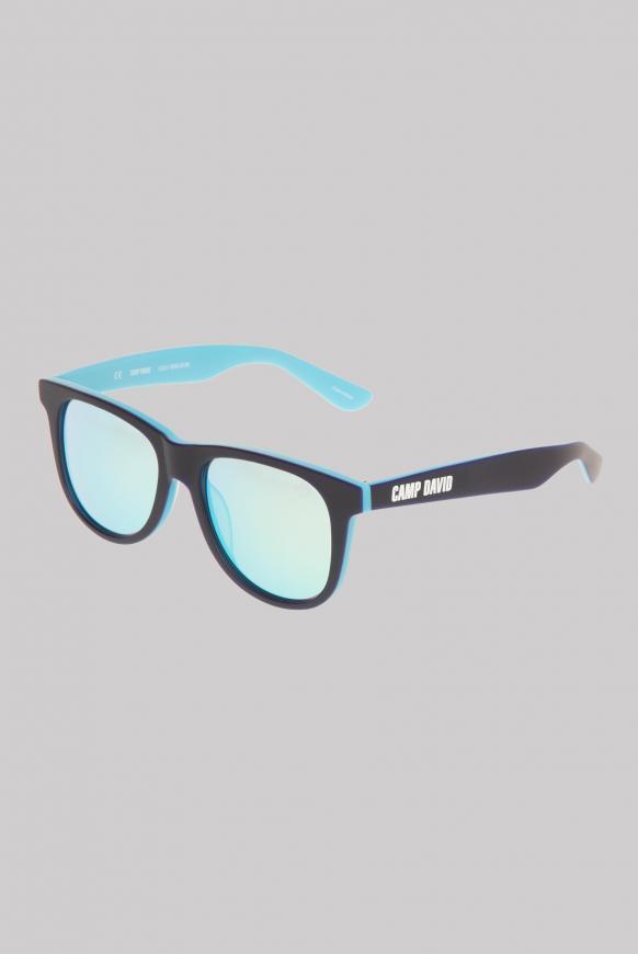 Sonnenbrille mit Vollrandfassung blue / aqua