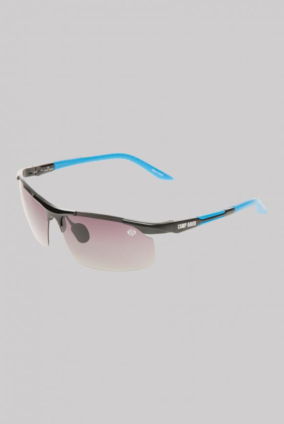 Sonnenbrille Sportstyle polarisiert black / turquoise