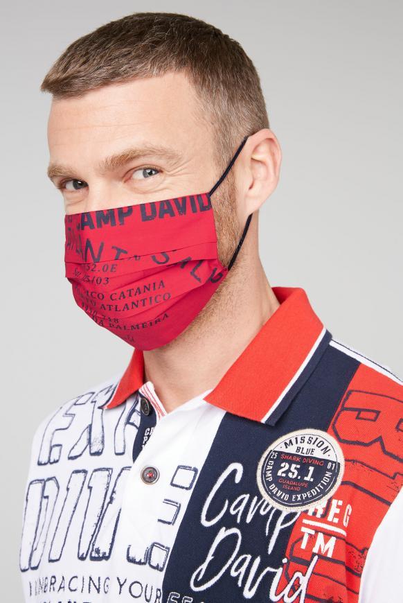 Stoffmasken mit Logo-Design 4er Pack diverses