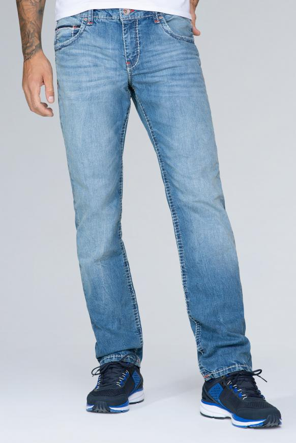Straight Leg Jeans CO:NO Comfort Fit light stone used