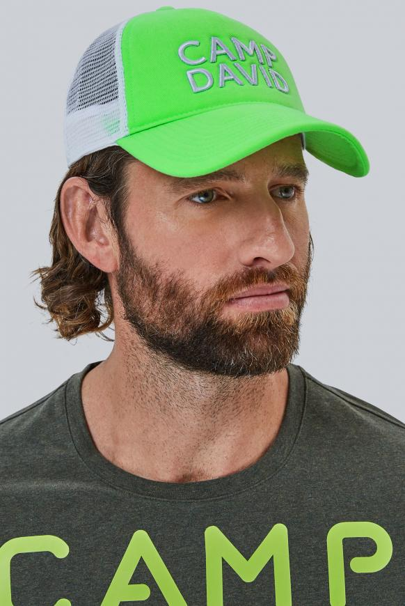 Trucker Cap mit 3D-Stickerei