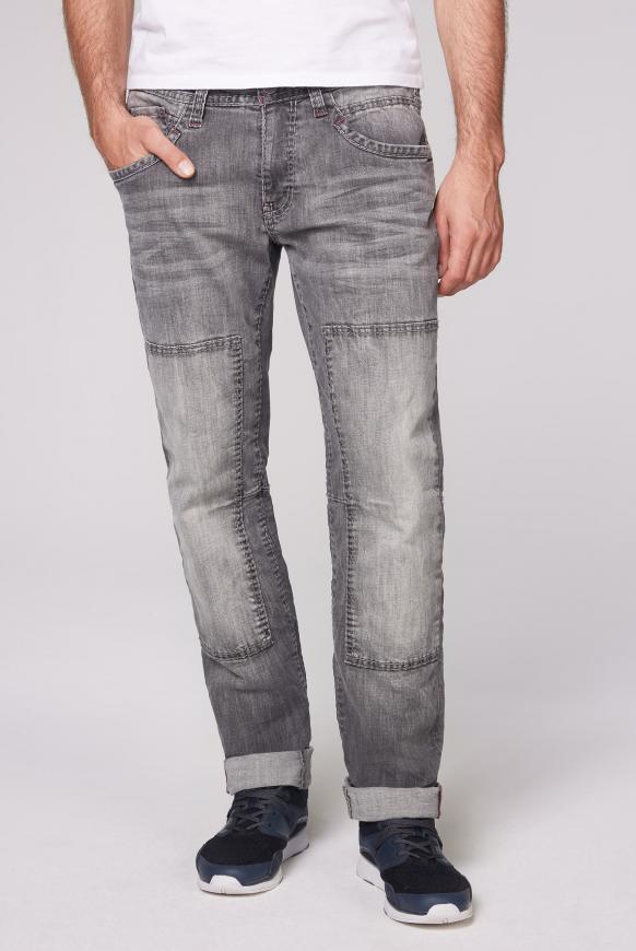 Worker Jeans WI:LL im Vintage Look light grey used