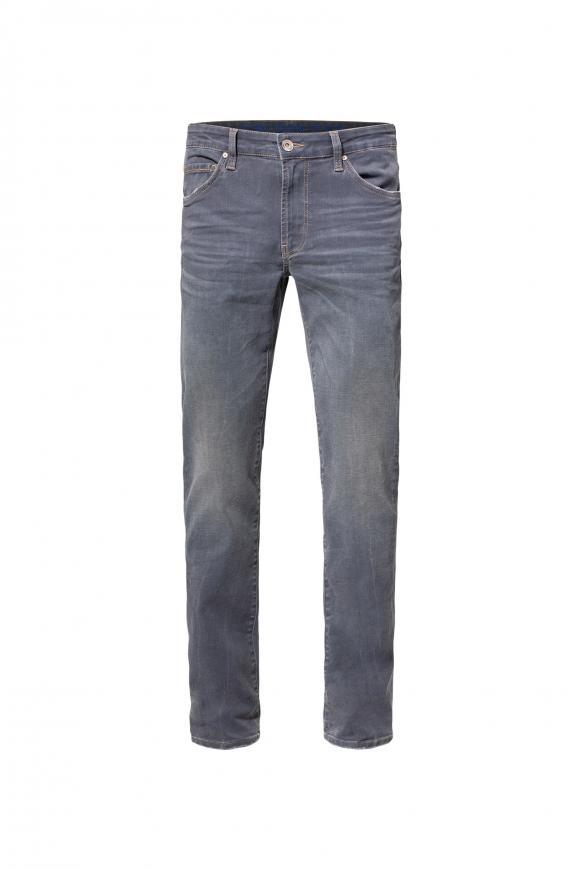 5-Pocket-Jeans NI:LS mit schmalen Beinverlauf grey blue used