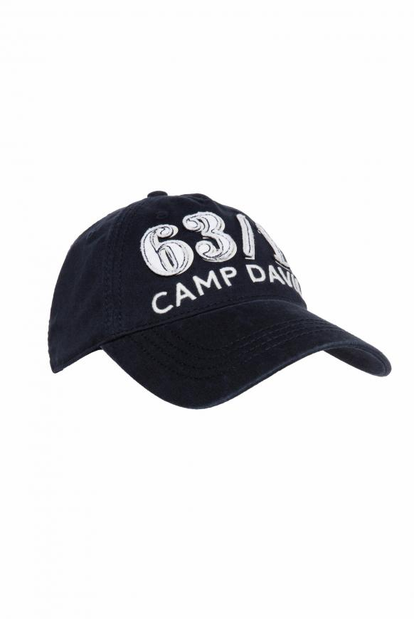 Base Cap Stone Washed mit Artwork deep sea