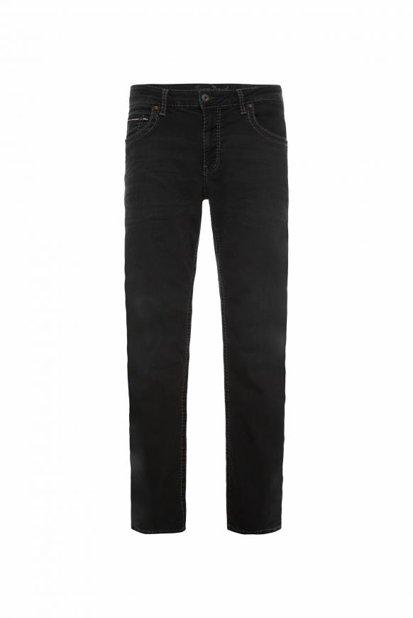 Black Used Denim CO:NO Comfort Fit black used