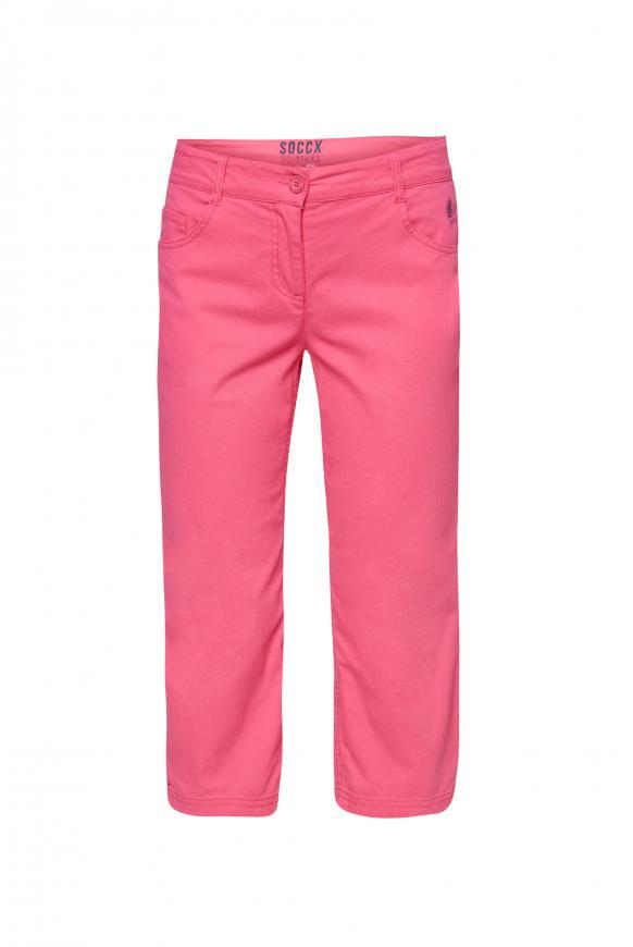 Caprihose im Five-Pocket Style oriental pink