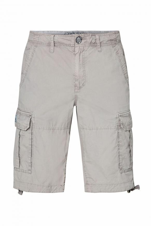 Cargo Shorts mit Klappentaschen natural